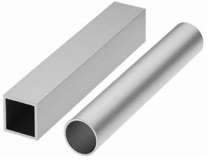 China Custom Aluminum Extrusion Rectangular Tube for Trains Machinery factory