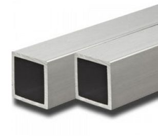 China Alloy 6063 / 6061 Aluminum Extrusion Rectangular Tube With ISO9001 factory