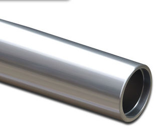 6061-T6 Anodized Aluminum / Mill Finished Tube With Cutting , Punching , Milling