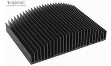 6063 Aluminum Heatsink Extrusion Profiles For Water Cooler / Electronic Radiator / Automatic Industry
