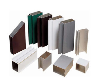 Powder Painted Aluminium Window Extrusion Profiles With Deep - Processing For Silding /Casement Window