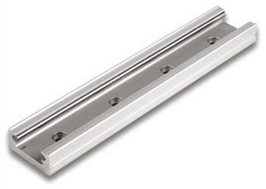 T Track Aluminum Window Extrusion Profiles , Silding Window Track / T Aluminium Track