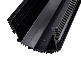 Anodized Aluminum Extrusions For Electronics / LED Wall Wash Light Shell
