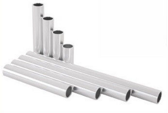 China Silvery Anodized Aluminum Tube With CNC Machining , Drilling / Cutting distributor