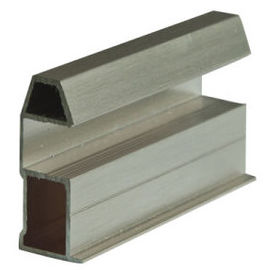 Silding / Casement Aluminum Window Frame Extrusions Profiles With Deep - Processing