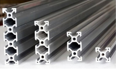 China 6063 - T6 Industrial Aluminium Profile System Weather Resistance For Assembly Stage factory