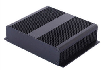 China Bright Black Anodizing Extruded Aluminum Enclosure 6063 / 6061 / 6005 distributor
