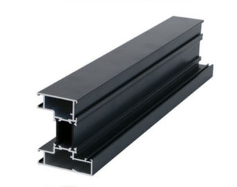 China Black Anodized Aluminum Extrusion Profile For Elevator / Window / Door factory