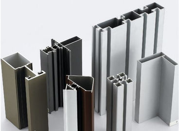 China Anodized Aluminium Extrusion Profile / With Cutting / Drilling / CNC Machining factory