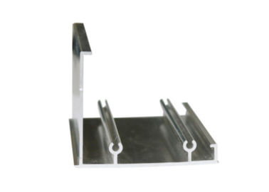 China Smoothness Construction Aluminum Profile Customized Powder Spray Coated distributor