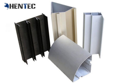 China Customized Construction Aluminum Profile , 6005 Aluminium Window Extrusions distributor