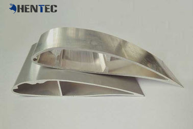 China Powder Painted Fan Blade Aluminium Extruded Profiles For Cooling Blades factory