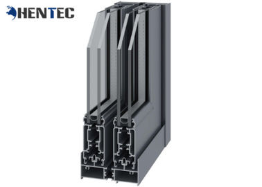 China Powder Coating Construction Extruded Aluminum Profiles Customized Sections distributor