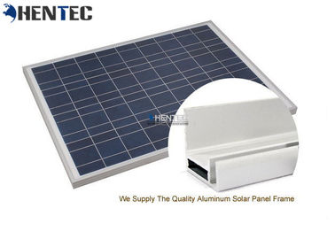China CA And CE Aluminum Solar Panel Frame 6063-T5 With Oxidized / Anodizing distributor