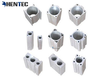 China Cylinder Pump Body Industrial Aluminium Profile , Aluminum Extruded Sections distributor