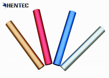 China Customized Size Extruded Aluminum Tube Profile High Corrosion Resistant distributor