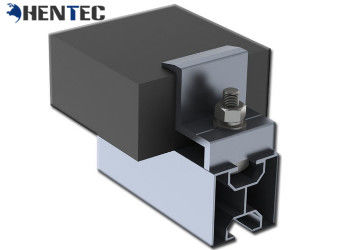 China Anodized Pv Mounting Systems End Clamp For Roof Mounting Systems , Weather Resistance distributor
