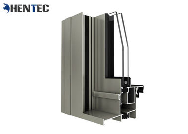 China Thermal Break Performance Aluminum Window Frame Extrusions With Powder Coated distributor