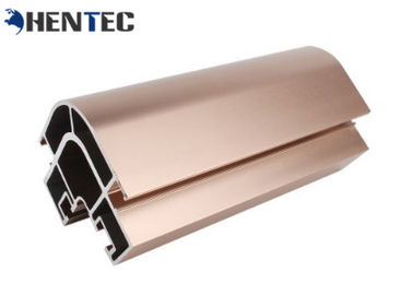 China T4 Aluminium Extruded Sections , Aluminium Extruded Profiles For Building distributor