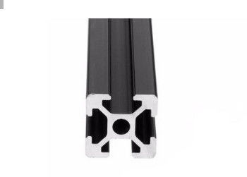 China Black Anodized Aluminium Profile System T Slot Aluminum Extrusion In Silver factory