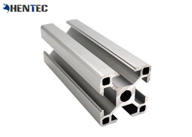 China Assembly Linve Coneyor Extruded Aluminum T Slot For Workbench / Working Table distributor