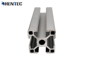 China Anti Scratch Aluminium Profile System / T Slot Extruded Aluminum Profiles factory