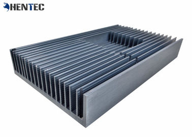 China Anodized Aluminum Heatsink Extrusion Profiles , Standard Aluminum Extrusion Profiles distributor