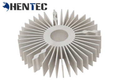 China Custom Made Aluminum Heatsink Extrusion Profiles , Aluminium Extruded Profiles distributor