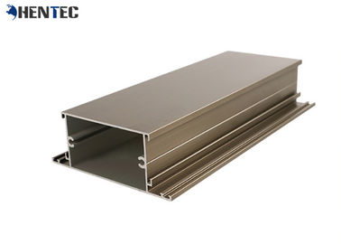 China Powder - Painted Aluminium Window Extrusion Profiles With Termal Strip distributor