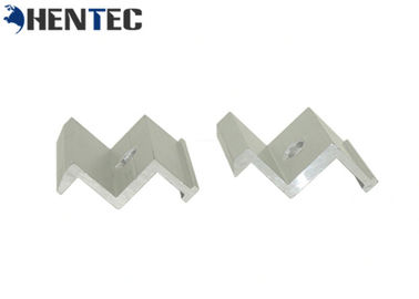 China Durable Solar Roof Mounting Systems Aluminum Mid Clamp For Buildings / Commercial factory