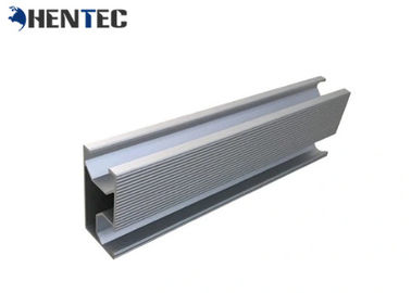 China Customized Size Aluminium Construction Profiles 6063 / 6061 / 6060 Long Warranty distributor