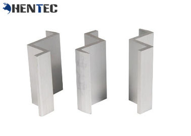 China PV Middle Clamp Solar Roof Mounting Systems Extruded Aluminum Profiles 6063- T5 / 6060- T5 factory