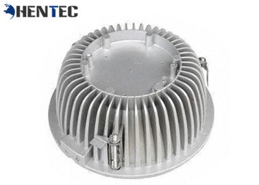 China Aluminum Led Light Heatsink Precision Cast Components Led Bulb Heat Sink distributor
