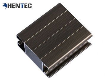 China CE Powder Painted Aluminum Door Extrusions For Side Hung Doors / Silding Doors distributor