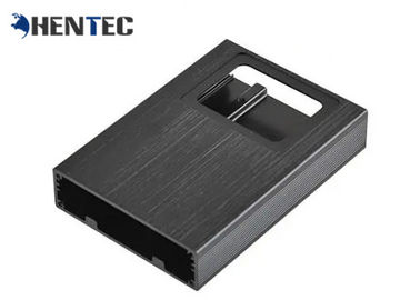 China Black Anodized Aluminum Shell / Extruded Aluminum Project Box For Electronics distributor