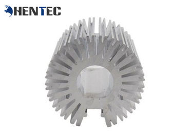 China Custom Made Aluminum Heatsink Extrusion Profiles , Aluminium Radiator distributor