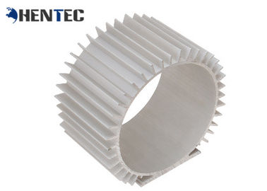 China Aluminum Radiator / Aluminum Heatsink Extrusion Profiles With Machining distributor
