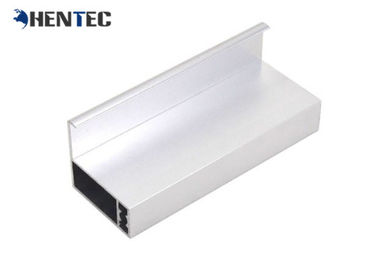 China 6063 Anodized Aluminum Solar Panel Frame With Screw Joint / Corner Key Joint distributor