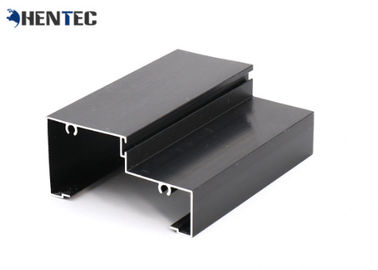 China Anodized 6063 T3 Aluminum Door Extrusions For Home decoration distributor