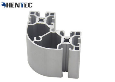 China Special Fittings Modular Aluminium Profile System , Aluminium Construction Profiles factory