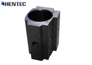 China 6063- T5 Silvery Black Cylinder Shell Industrial Aluminum Profile With Longlife distributor