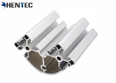 China Durable Aluminium Extrusion System 6063 / 6061 / 6005 Special Fittings Anodized distributor