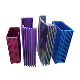 Anodized 6063 Industrial Extruded Aluminium Profiles Electrical Cover