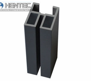 China PVDF Aluminum Extrusion Profiles For Sliding Door , With Finished Machining factory
