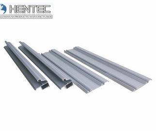China 6061 / 6063 Aluminum Extrusion Profiles For Sliding Door , With Finished Machining factory