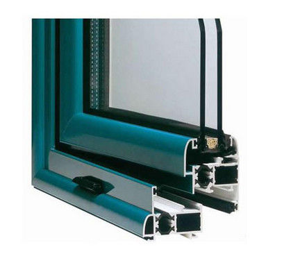Powder Painted Aluminum Window Extrusion Profiles For Double Glazing Casement Window 1