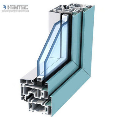 Powder Painted Aluminum Window Extrusion Profiles For Double Glazing Casement Window 2